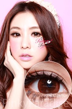 Hana SPC Barbie Circle Brown Circle Lenses ( Colored Contacts)