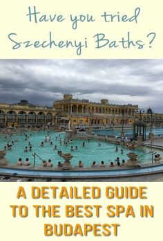 Szechenyi Baths in Budapest are the best place to relax and enjoy thermal waters, saunas, and other SPA features and amenities. There's even a beer spa, should you want to float in your favorite drink. Budapest Thermal Baths, Budapest Travel Guide, Thermal Pool, Visit Budapest, Europe Travel Tips, Travel Guides, Best Spa, Cities In Europe, Saunas