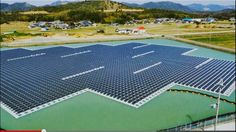http://www.treehugger.com/renewable-energy/japan-building-huge-floating-solar-power-plants.html floating solar power plants