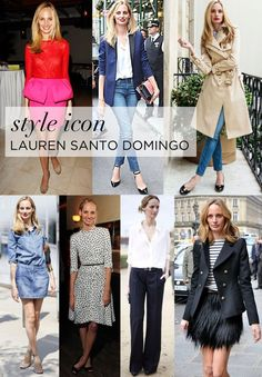 Lauren Santo Domingo is our latest Style Icon.