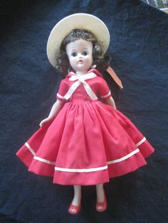 1957 Jill Doll from VOGUE DOLL by CannonsCottage on Etsy, $75.00    Ah, this was like my Jill...wish I still had her!