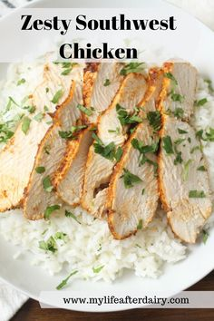 Juicy, oven-baked, southwest chicken is the perfect weeknight dinner recipe. This moist chicken breast recipe cooks up in 30 minutes for an easy and flavorful meal everyone will enjoy! Serve in a southwest chicken salad, with rice, or in a taco! #healthy #southwest #chicken Chicken Recipes Dairy Free, Fried Chicken Recipes, Moist Chicken, Oven Baked Chicken, Southwest Chicken, Breast Recipe, Yum Yum Chicken, Sensitivity, Chicken Salad