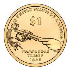 2011 Native American Dollar Reverse, Unc