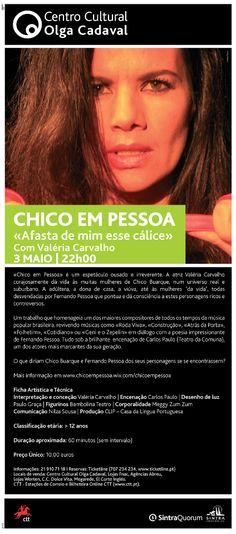 Chico em Pessoa - Lisboa - Portugal