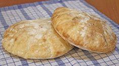 Somuni lepinje recept / Flat Bread Recipe [Eng Subs] Bosnian Bread Recipe, Bosnian Recipes, Croatian Recipes, Serbian Pita Recipe, Savoury Baking, Bread Baking, Ma Baker, Albanian Recipes, Albanian Food