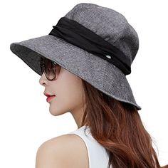 d2efcaf8cfeb9 SIGGI Women Summer Sun Hat cotton Cap chapeu feminino praia chapeau femme  bill neck flap UV upf 50+ large brim fashion 68035
