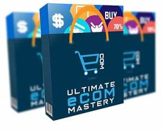 Ultimate Ecom Mastery – what is it? Ultimate Ecom Mastery is an over the shoulder video course which shows how you can build your Longterm Online Business Ecommerce drop shipping Store and advertise using the power of Facebook paid Ad. Facebook Paid Ads, Amazon Affiliate Marketing, Ecommerce Store, Internet Marketing, Online Business, You Got This, Promotion, Drop, Shoulder