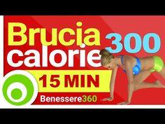 Bruciare 300 Calorie in 15 Minuti per Dimagrire - YouTube