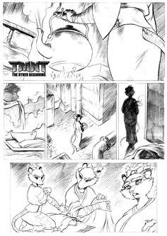 TMNT The Other Beginning Page1 by chochi.deviantart.com on @deviantART