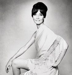 Audrey Hepburn for Vogue Italia; August, 1969 ~ wearing Valentino.