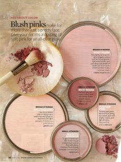Blush pink color palette of your dreams Interior Paint Colors, Paint Colors For Home, Paint Colours, Peach Paint Colors, Blush Pink Paint, Decoration Inspiration, Color Inspiration, Decor Ideas, Wall Colors