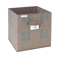 Seda France Cameo Key Storage Cube in Taupe