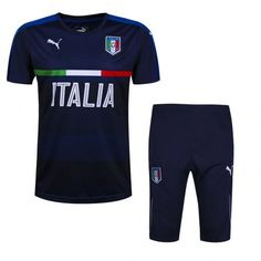 Maillot Training Italie Noire