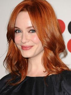 color // every time i think i'm done with red for good, christina hendricks pulls me back in.