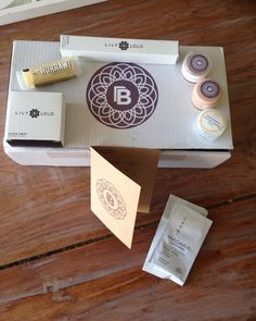 Received my @beautiful_because box today with all natural products. Thank you @beautiful_because 😘 I will try the tester foundations and give you my opinion.