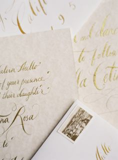 Photography: Jose Villa Photography - http://www.stylemepretty.com/portfolio/jose-villa Gown: Reem Acra - www.reemacra.com Calligraphy: Tara Jones Calligraphy - http://www.stylemepretty.com/portfolio/tarajonescalligraphy   Read More on SMP: http://www.stylemepretty.com/2014/03/26/an-italy-workshop-the-wedding-inspiration/