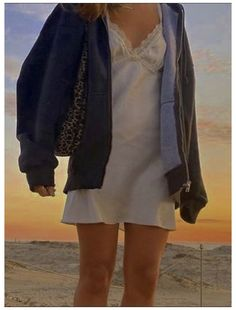 mini dress #how #to #make #a #hoodie #pattern slip dress / oversized zip-up hoodie / patterned shoulder purse Indie Outfits, Retro Outfits, Cute Casual Outfits, Dress Outfits, Girl Outfits, Fashion Outfits, Slip Dress Outfit, Slip Dresses, Fashion Ideas