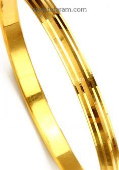 Gold Kada For Mens Gold Punjabi Kada Gents Gold Kada Gold