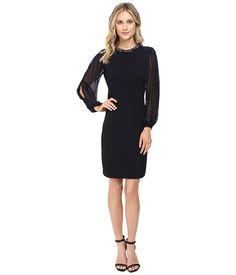 Christin Michaels Gillian Necklace Dress