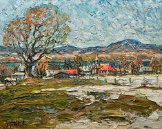 fine art since 1989 Canadian Painters, City Art, Impressionist, Original Paintings, Colours, Landscape, The Originals, Leclerc, Gallery
