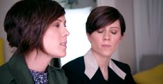 "Pop musicians Tegan and Sara shared their story as part of the ""It Got Better"" series. It's a worldwide movement to inspire and support LGBTQ youth, many of whom are faced with harassment and bullying. The idea is to let them know ""it gets better. Famous Sisters, Lesbian, Gay, Equality And Diversity, Pop Musicians, Tegan And Sara, Will And Grace, Lgbt Rights, Billy Joel"