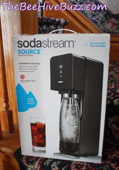 Enter to WIN a SodaStream MIRACLE machine over at The BeeHiveBuzz.com.