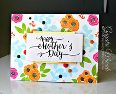 mothers day card crafted - HD1600×1206