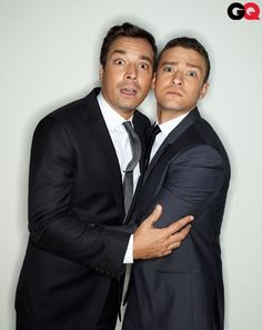 GQ Men of the Year 2011: Justin Timberlake and Jimmy Fallon