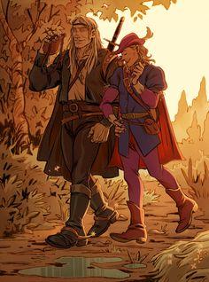 The Witcher Books, The Witcher Game, The Witcher Geralt, Witcher Art, High Fantasy, Beautiful Artwork, Art Blog, Cyber, Fan Art