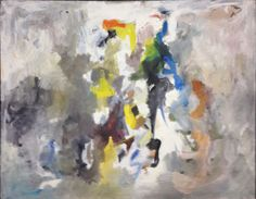 John Stephan, Untitled, 1957  Oil on canvas, 36 1/2 x 48 inches