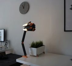Desk Stranding - The Death Stranding Desk Lamp by Nils Kal #prusai3 #practical #prototyping