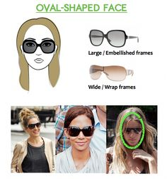 frames for oval-shaped faces  ovalfaceshapehairstyles Longs Visages, Visages  Ovales, Formes De 70cb484cdd05