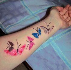 Butterfly-Tattoo-Design-Ideas-On-Forearm