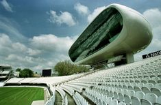 1999: Natwest Media Centre, Lord's Cricket Ground, London. Future Systems