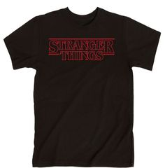 Love Stranger Things so much that you binged the first season in 1 day? Yep, so did we! This is the perfect tee to wear when watching the season all over again! 90% cotton/10% polyester ; 5.3 Oz/Presh