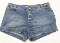 Free People Womens Sz 28 Distressed Wash Braided embellishment Denim Jean Shorts #FreePeople #DenimShorts #fashion #style #3ds #vintage #shopping #clothing #ebayseller #abestbra #instagood #fashionista #paypal #toys #ebaystore #vinyl #holidaygifts #collectibles #vinyligclub #dress #accessories #pokemon #art #ootd #mens #shoes #instadaily #shop #selling