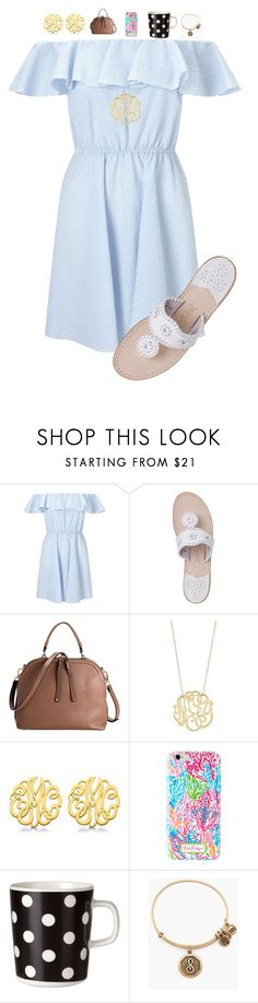 """~Jeremiah 29:11~"" by preppywithpearls ❤ liked on Polyvore featuring Miss Selfridge, Jack Rogers, Ginette NY, Allurez, Marimekko and Alex and Ani"