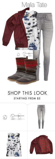 """""""Malia Tate - tw / teen wolf"""" by shadyannon ❤ liked on Polyvore featuring RVCA, Fred Perry and TOMS"""
