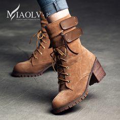 Trova altre Stivali da donna Informazioni circa Nuovo arrivo di modo di  inverno della donna scarpe 9e2a2d70a05