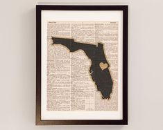On its way to hang in my office, THANKS ANDREW!    University of Central Florida Knights Dictionary Art Print - $10.00