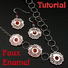 Tutorial, Polymer Clay, Resin, and Metal