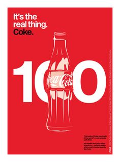 Kiss The Past Hello. Coca-Cola Design: 100 Years of the Coca-Cola Bottle. by: Mark Bloom, Mash Creative Coca Cola Santa, Coca Cola Ad, Coca Cola Bottles, Ads Creative, Illustrations And Posters, Coke, Branding, Graphic Design, Drinks