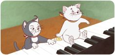 nekotalia | Tumblr<--ITS FROM THE FUCKING ARISTOCATS I LOVE THIS SO MUCH UUUUGH