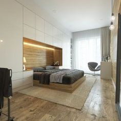 101 Masculine And Modern Man Bedroom Design Ideas Men's Bedroom Design, Master Bedroom Interior, Small Master Bedroom, Home Room Design, Home Bedroom, Bedroom Built In Wardrobe, Bedroom Built Ins, Fitted Bedroom Furniture, Fitted Bedrooms