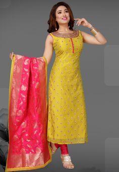 25 Latest Churidar Dress Designs To Look Like a Desi Diva! Salwar Neck Designs, Neck Designs For Suits, Churidar Designs, Kurta Neck Design, Kurta Designs Women, Dress Neck Designs, Sari Blouse Designs, Silk Kurti Designs, Designer Party Wear Dresses