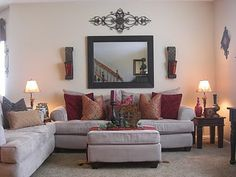 No Place Like Our Home: ***Front Formal Living Room***
