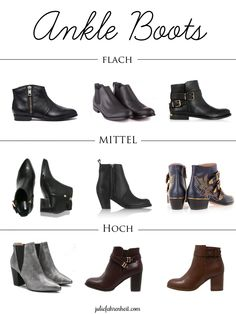 Ankle Boots | Julie