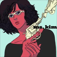 'Ms. Kim' by AfuChan
