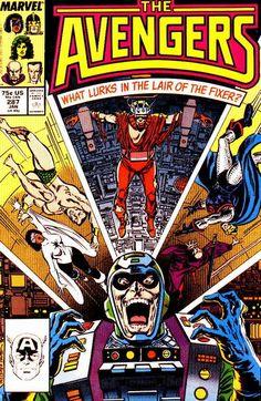 Avengers # 287 by John Buscema & Tom Palmer