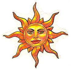 sun tattoo design by Deborah-Valentine on DeviantArt